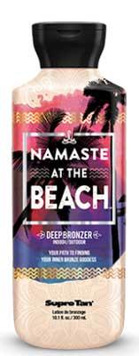 Supre Tan Namaste at the Beach