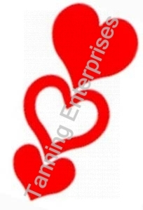 Heart Stickers 50 count