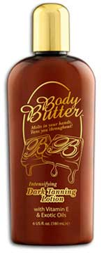 Body Butter Dark Maximizer Tanning Lotion