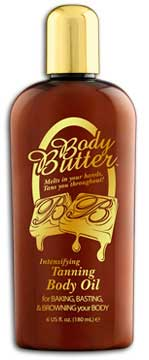 Body Butter Oil Accelerator Tanning Lotion