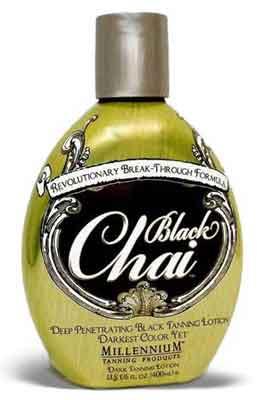 Millennium BLACK CHAI Darkest Color Tan Lotion - 13.5 oz.