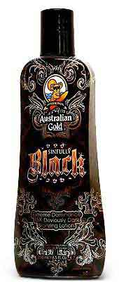 Australian Gold Sinfully Black Bronzer Best Tanning Lotion