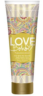 LOVE BOHO FREE SPIRIT TAN EXTENDER by Swedish Beauty- 10.0 oz.