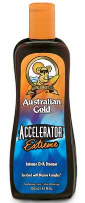 Australian Gold Accelerator Extreme Tanning Bed Lotion