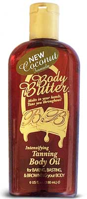 Body Butter Oil Tanning Accelerator Lotion