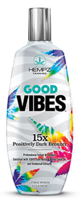 Hempz GOOD VIBES by Supre Dark Bronzer - 8.5 oz.