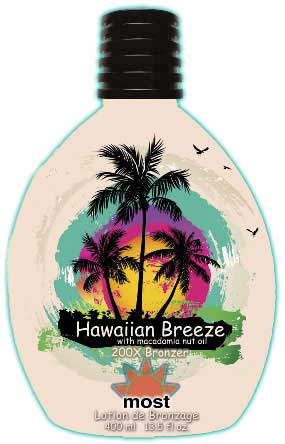 HAWAIIAN BREEZE by Most 200 X Bronzer Macadamia oil - 13.5 oz.