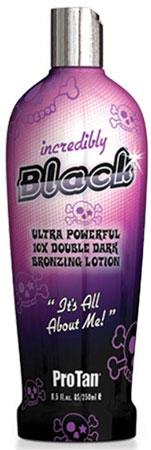 Pro Tan INCREDIBLY BLACK 10 x Bronzing Tan Lotion - 8.5 oz.
