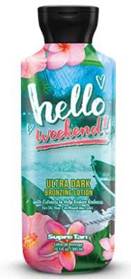 Supre Hello Weekend Dark Tanning Natural Bronzer - 10 oz.