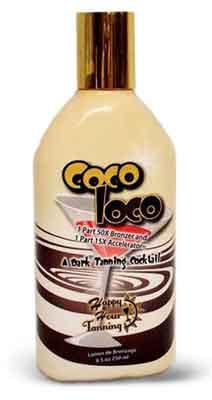 Ultimate Happy Hour COCO LOCO 50 X Tanning Bronzer - 8.5 oz.