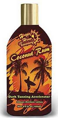Ultimate Happy Hour COCONUT RUM Dark Tanning Accelerator - 8.5 oz.