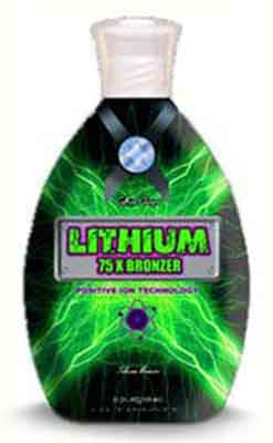 Ultimate LITHIUM 75 X Bronzer Tanning Lotion -11.0 oz.