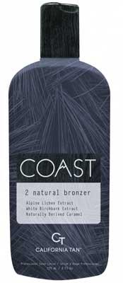 California Tan CT COAST NATURAL BRONZER Step 2  - 8.0 oz.