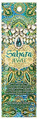 Designer Skin SAHARA JEWEL 30 X Bronzer - Sample, Packet