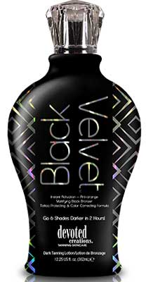 Devoted Creations Black Velvet anti orange Black Bronzer - 12.25 oz.