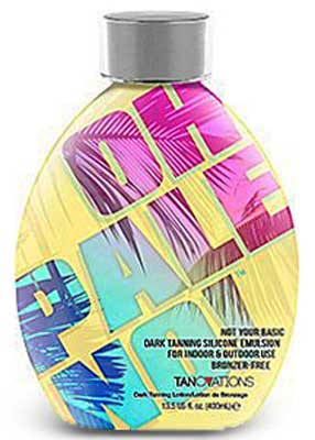 OH PALE NO! by Ed Hardy Tanning Dark Tanner NO Bronzers - 13.5 oz.