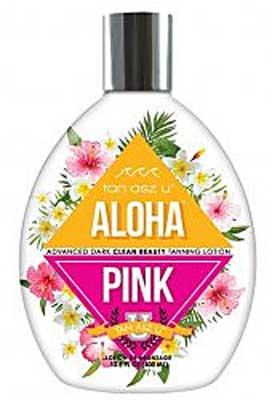ALOHA PINK by Tan Asz U Advanced Dark Tanning Lotion - 13.5 oz.