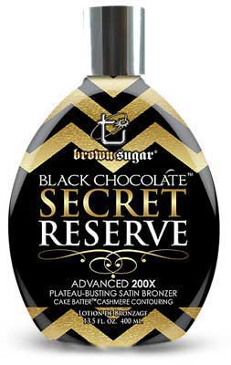 BLACK CHOCOLATE SECRET RESERVE by Brown Sugar  - 13.5 oz.