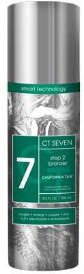 California Tan CT SEVEN BRONZER Step 2  - 6.8 oz.