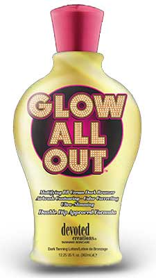Devoted Creations GLOW ALL OUT Triple Dark Bronzer -12.25 oz