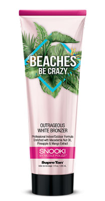 SNOOKI BEACHES BE CRAZY White Bronzer - 9.0 oz.