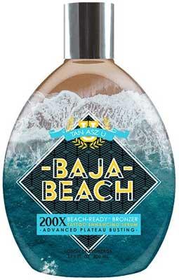 Tan Asz U Baja Beach Advanced 200X Bronzer - 13.5 oz