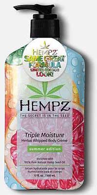 Hempz Triple Whipped Herbal Creme Moisturizer