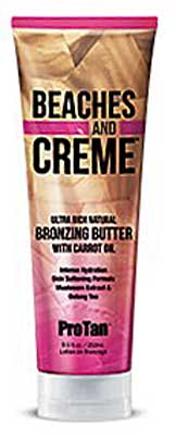 Pro Tan Beaches and Cream Natural Bronzing Butter - 8.0 oz.