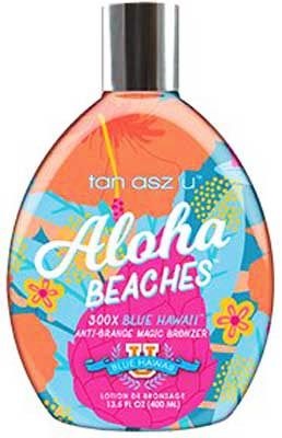 Tan Asz U Aloha Beaches 300 X Bronzer  - 13.5 oz.