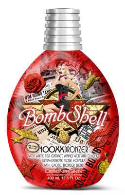 Designer Skin Bombshell 100XX Bronzer Hot Tingle Tanning Lotion