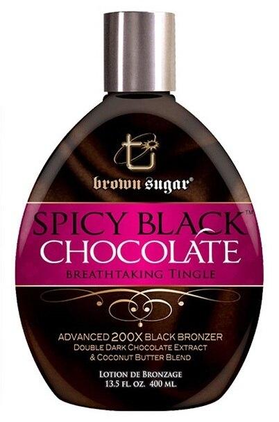 SPICY BLACK CHOCOLATE Bronzer by Tan Inc. Brown Sugar - 13.5 oz.
