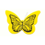 Butterfly Stickers Yellow 50 ct.