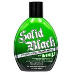 SOLID BLACK HYPOALLERGENIC TAN MAXIMIZER with HEMP - 13.5 oz.